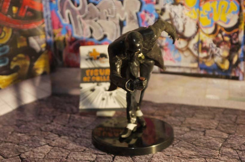 figura de coleccion original guason mascara, batman jocker