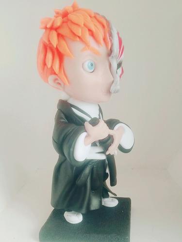 figura de coleccion serie bleach / ichigo + envio gratis