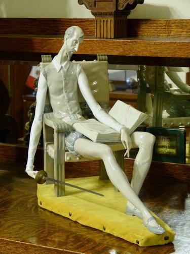 figura de don quijote de lladro no. 01001030