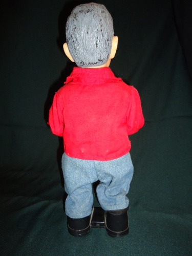 figura de george bush (habla, canta y baila)