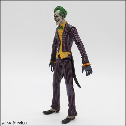 figura de joker, guason pvc. batman. articulado. envio grati
