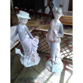 Figura De Lladro Dama Y Novios