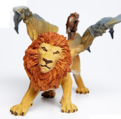 figura de lujo coleccionable manticora marca safari ltd