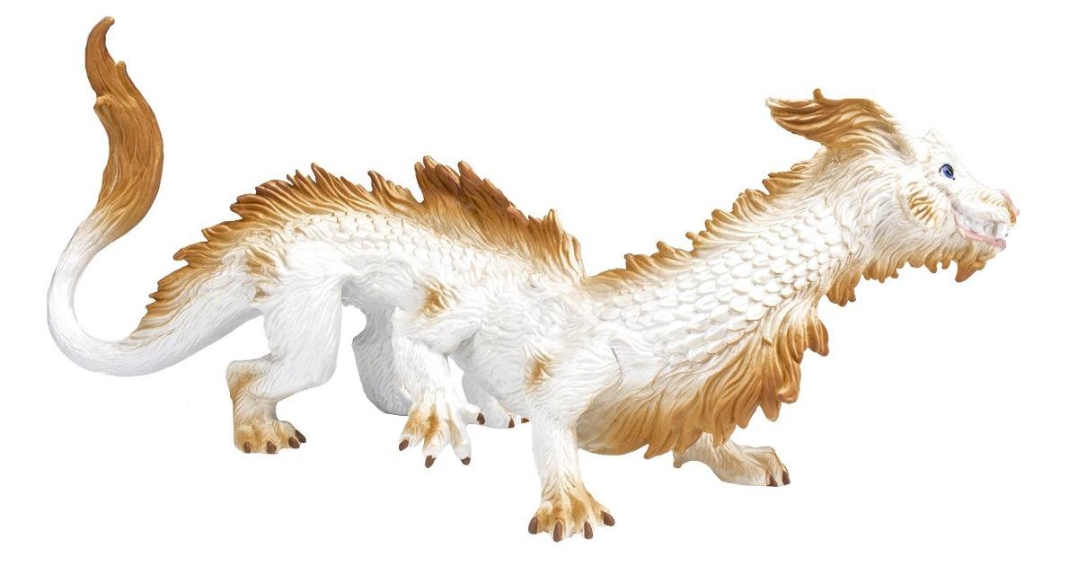 Figura De Lujo Dragon De La Buena Suerte Marca Safari Ltd