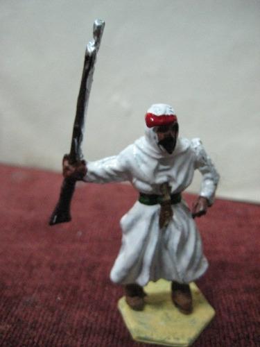 figura de plomo - arabe moro infanteria - legion