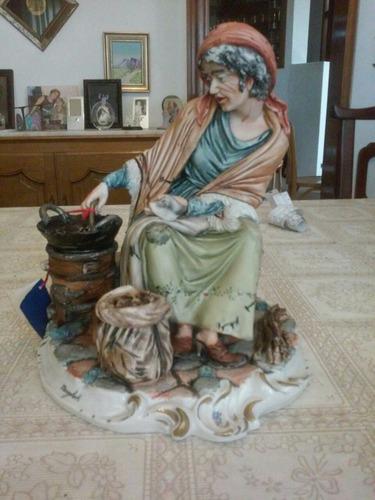 figura de porcelana capodimonte