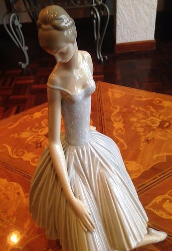 figura de porcelana lladró bailarina del triste arlequín