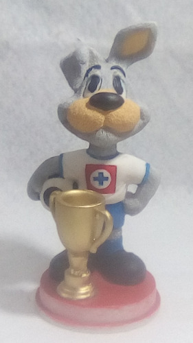 figura de resina del cruz azul copa + envio gratis
