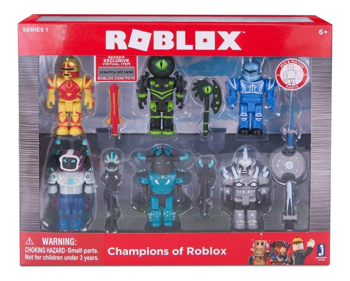 figuras de roblox en mercado libre uruguay Figura De Roblox Campeones De Roblox Six Pack U S 70 00 En Mercado Libre