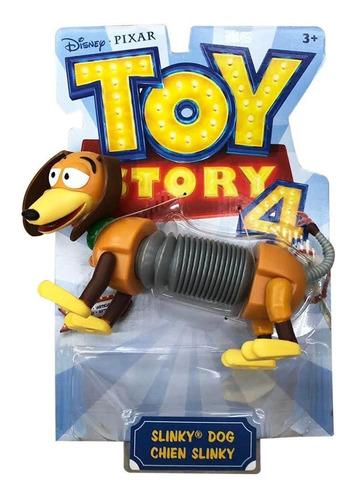 figura de slinky 20cm disney toy story 4 perro mattel gfv30