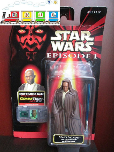figura de star wars episodio 1 - mace windu (-13-)