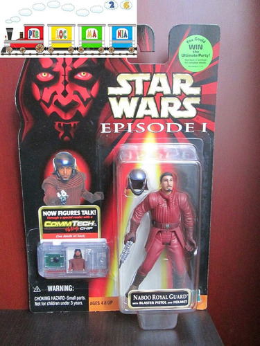 figura de star wars episodio 1 - naboo royal guard (-9-)