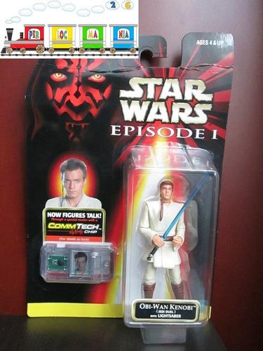 figura de star wars episodio 1 - obi-wan kenobi (-19-)
