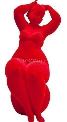 figura decorativa lumpy lady red kare (35840)