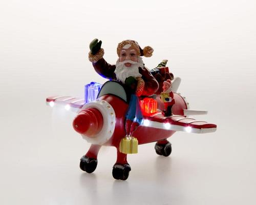 figura decorativa navideña starhaus rojo pm-4665143