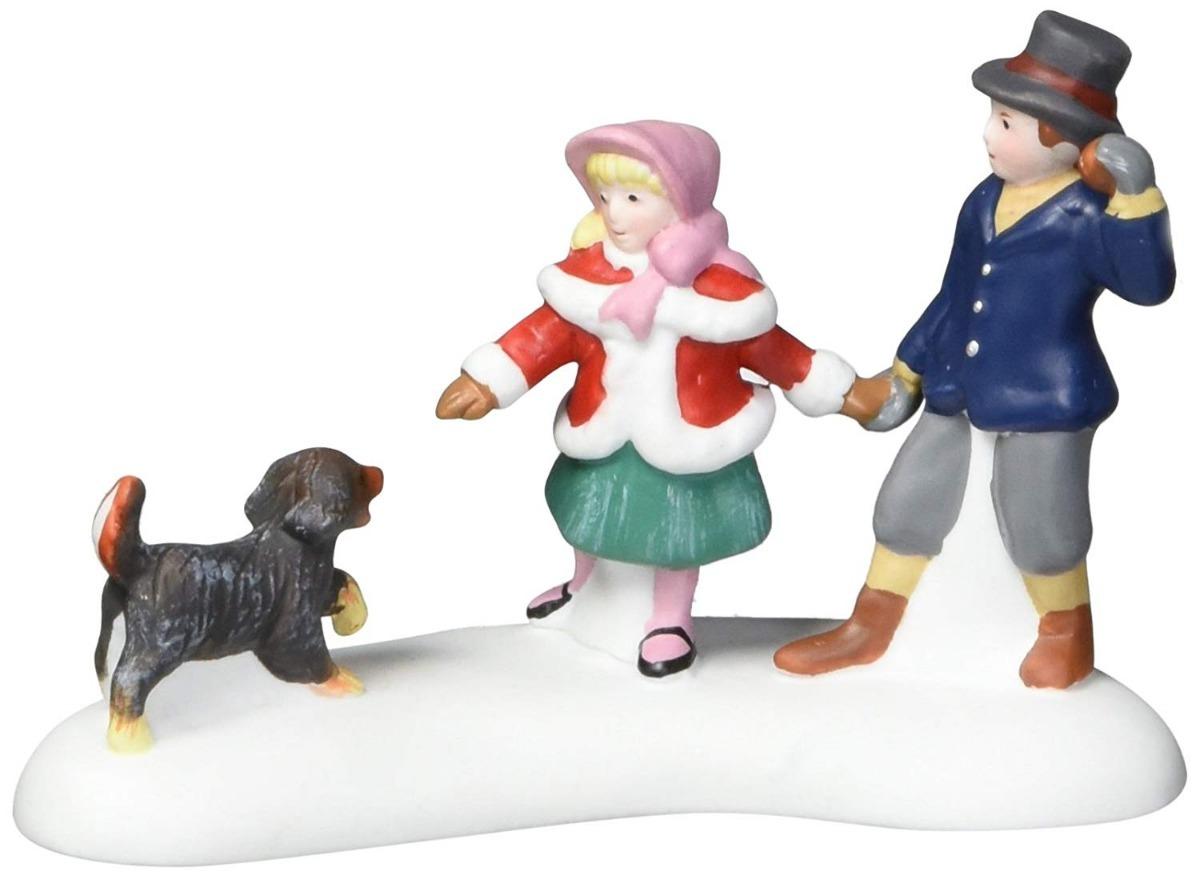Figura Decorativa Ninos Jugando Con Perro Envio Gratis 790 00 En