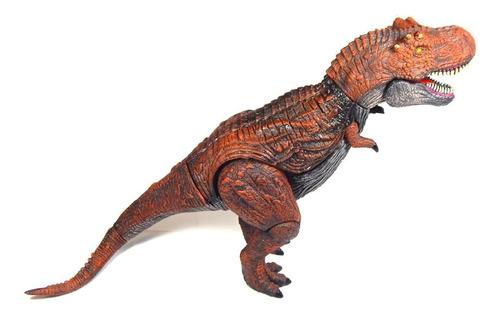 figura dinosaurio t rex tiranosaurus mundo jurasico sonido