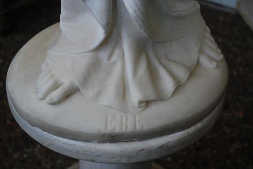 figura diosa griega marmol de carrara 1872