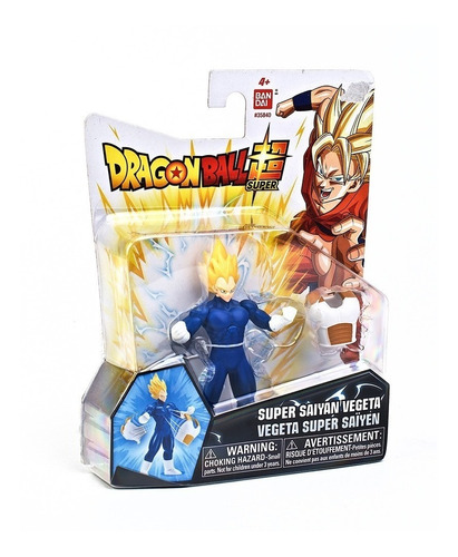 figura dragon ball super 9cm vegeta (2323)