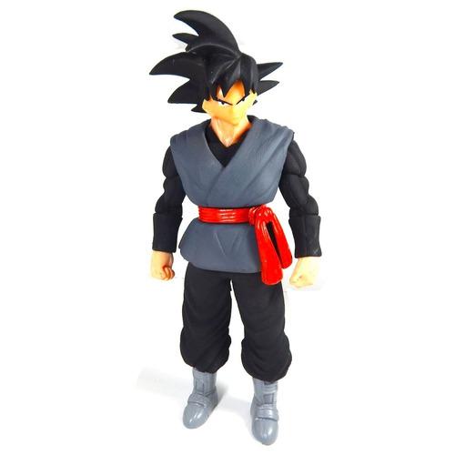 figura dragon ball super black goku sayayin luz envio gratis