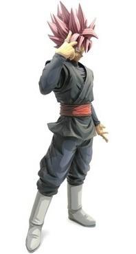 figura dragon ball super - goku black rose grandista - manga