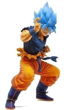 figura dragon ball super - masterlise super saiyan god son g