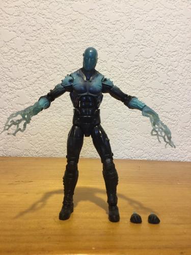 figura electro the amazing spiderman 2 - marvel legends