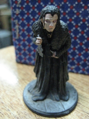 figura en plomo - el señor de los anillos