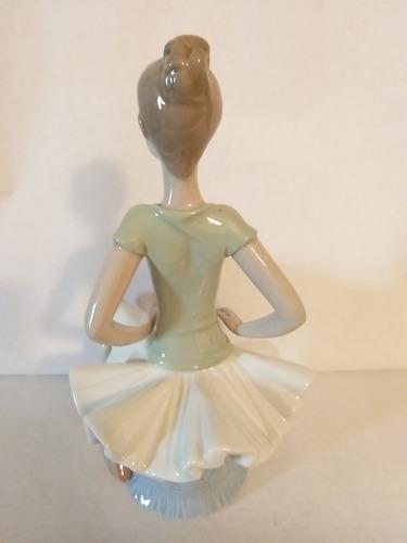figura en porcelana lladró 1360 bailarina laura como nuevo