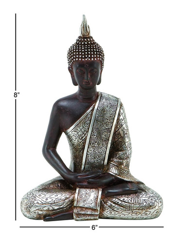 figura estatua buda meditando decoracion +envio gratis