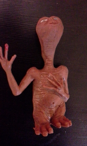 figura e.t.  vintage bootleg el extraterrestre