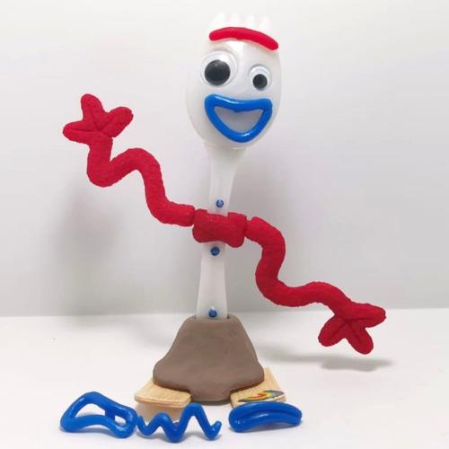 figura forky chico 18cm toy juguete bocas intercambiables
