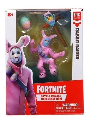 figura fortnite - rabbit raider + accesorios - epic games