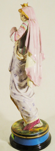 figura francesa porcelana sello ha y cia