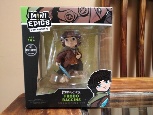 figura frodo lord of the rings