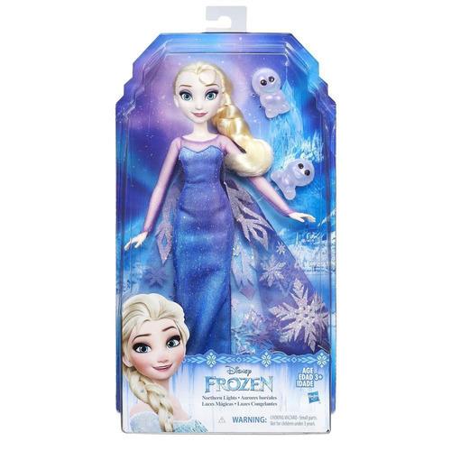 figura frozen luces mágicas - hasbro (3718)
