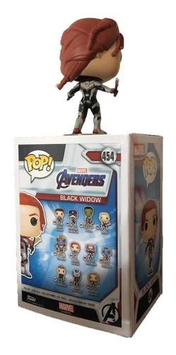 figura funko  avengers endgame marvel juguete black widow