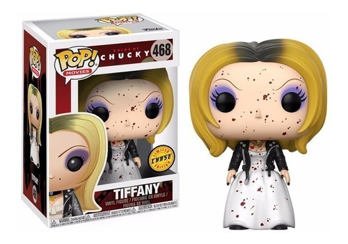 figura funko pop! #468 tiffany (chase) chucky 100% original