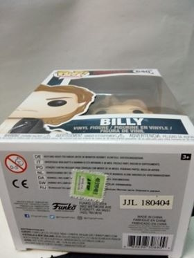 figura funko pop! # 640 billy stranger things