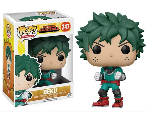 figura funko pop anime my hero academia - deku 247. original