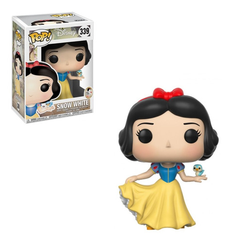 figura funko pop disney blanca nieves 339