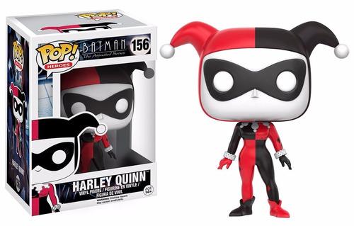 figura funko pop harley quinn dc comics batman serie