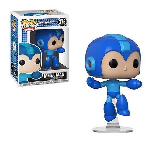 figura funko pop - megaman jumping 376