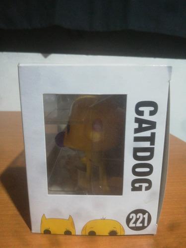 figura funko pop! nickelodeon #221: catdog