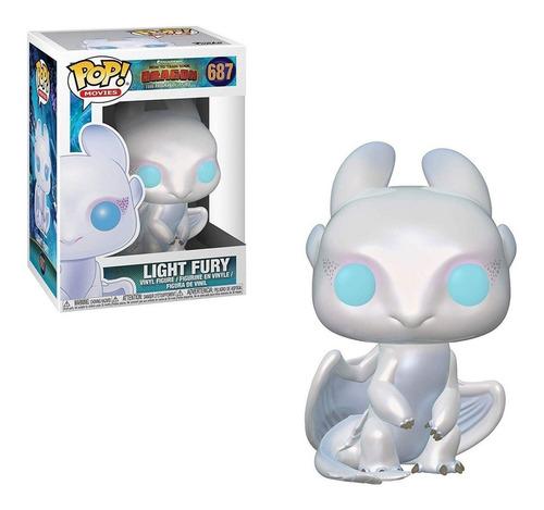 figura funko pop peliculas - light fury 687