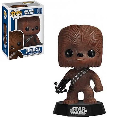 figura funko pop star wars - chewbacca bobble 06.