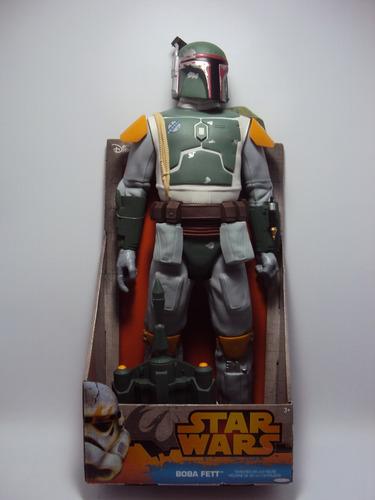 figura gigante de boba fett - star wars . 45 cm.