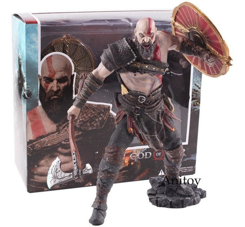 figura god of war kratos (27 cms) envio gratis