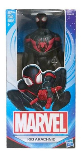 figura hasbro original marvel spiderman kid arachnid 6°