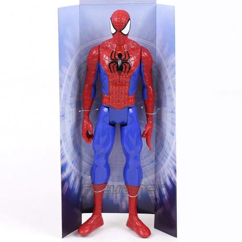 figura hasbro vengadores spiderman 30cm somos tienda